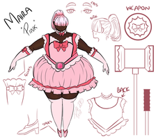 Magical Girl Maira - Character Sheet by DaeofthePast