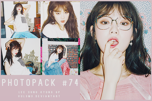 #74 PHOTOPACK-Lee Sung Kyung by vul3m3