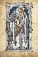 Tarot: The Hierophant by Sceith-A