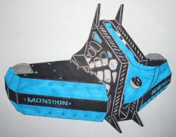 BattleBots ABC season 3 Monsoon by sgtjack2016