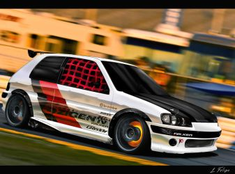 Peugeot 106 by Psyco-Design