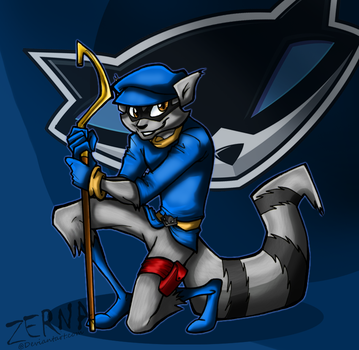 Sly Cooper by Zerna