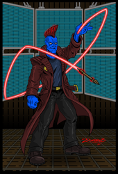 Yondu drawing by ZZoMBiEXIII