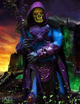 Grayskull will FALL to ME, SKELETOR!! by captainjaze