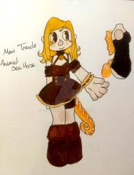 [Mew Adopts] Mew Treacle by GetSquiddy