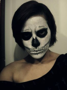 Skull make up by CorpseChild95