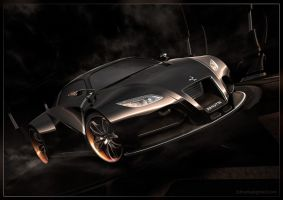 Concept Car - Black by 3DnuTTa