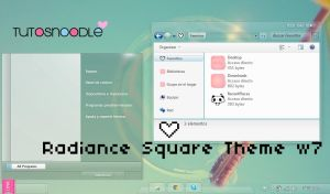 Radiance Square theme w7 byminhtrimatrix by TutosNoodle