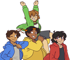 Voltron by summer-draws