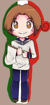 Italy Chibi by Patriot-Sheep