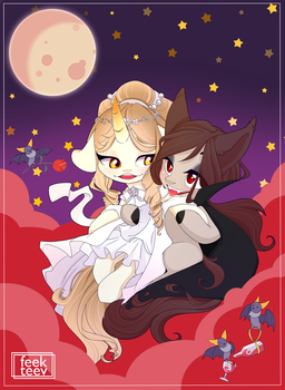 Love with the vampire by feekteev