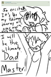 Ask Ash and Pregnant Serena 2 by MyDoggyCatMadi