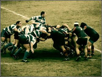 Old Style Rugby by PhotoPask
