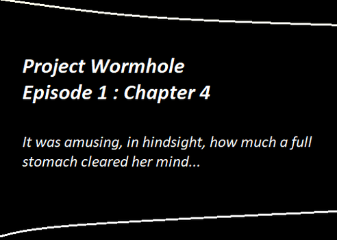Project Wormhole : Episode 1 : Chapter 4 by TeaCeremony