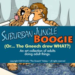 Dover and Comfort Bathtime: Suburban Jungle Boogie by the-gneech