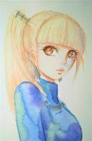 Watercolor - Ria (hxh oc) by MauiCatgirl