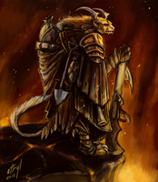 Guild Wars 2 - Charr Engineer by atryl