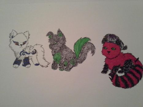 Organized Disaster Animal Forms by Wrath4life