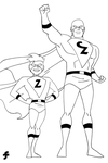 Captain Zoom and Zippy | COMMISSION by JTSEntertainment