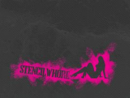 stencilwhore by nouseforaname