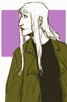 Another Generic Side Profile Portrait by Miss-Linna