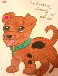 A Pup Named Scooby Doo by MarshMallowMachine