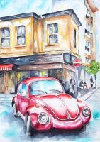 Red Beetle by rougealizarine