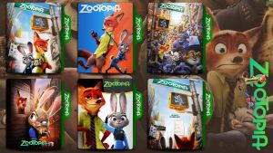 Zootopia 2016 folder icon by HNS-Rock