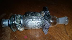 nectar collectar crystal wire wrap right side by calvincanibus