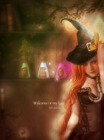 Welcome to my lair by MelieMelusine