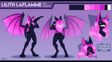 CM: Lilith Reference by NegaNeon