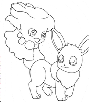 Misdreavus and Eevee base
