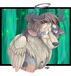 Commission #55 - 2 of 3 - Spirit Boi by TheLavaWolf