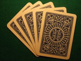 Playing cards by theartr