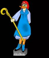 Darkwing: Katessa Feathington by ToonQueen
