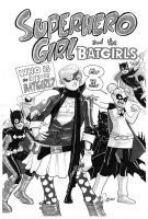 Superhero Girl + Batgirls by caanantheartboy