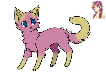 Seraphina from Unordinary as a cat by Bluestarcraft
