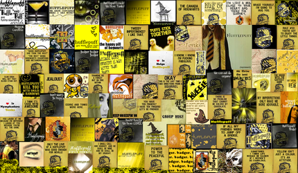 Hufflepuff Icon Compilation by TheLupinsAreImmortal