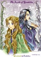 Glorfindel and Ecthelion by Windrelyn