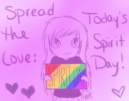 Spread the Love: Today's Spirit Day! by techn0vert