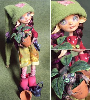 little gardener - Briar Rose custom by fuchskauz