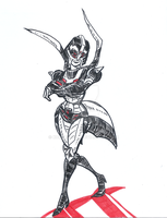 TFA Red Lady by KokoCereal