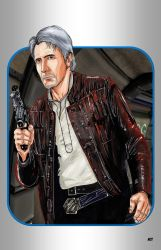 Han Solo by nathanobrien