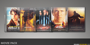 Movie DVD Icons 24 by manueek