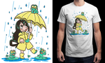 My Froppy design is printing on Qwertee - Ended! by SarahRichford