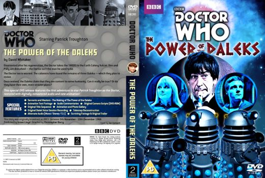 The Power Of The Daleks - DVD Cover REVISED by Cotterill23