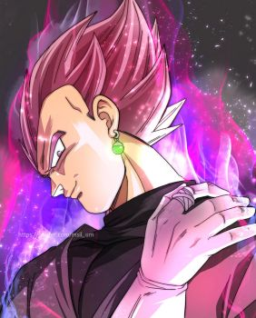 vegeta rose by oume12