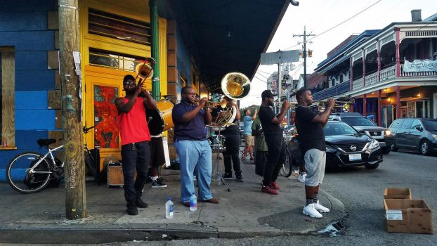 Frenchmen Streen, New Orleans by psychosilence