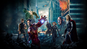 Avengers Dreamscene animated Background 1920x1080 by sachso74