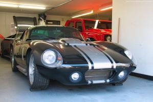 Silver on Black Daytona Coupe by SeanTheCarSpotter